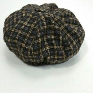 Shandon Accessories - Shandon Ireland Check Wool Golf Cap 17b044598e0